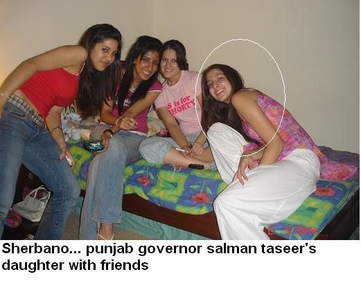 Governor Punjab Salman Taseer and his Faimily