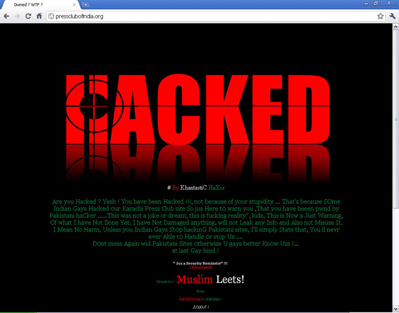D0nt mess Again wid Pakistani Sites 0therwise U gays better Kn0w Uss !…