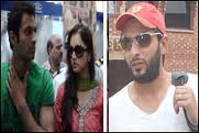 shahid afridi and sania mirza