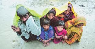 blankets for sindh rain victims